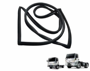 Borracha parabrisa Caminhão Ford Cargo Geração 1 Todos - 85HBE03110AA