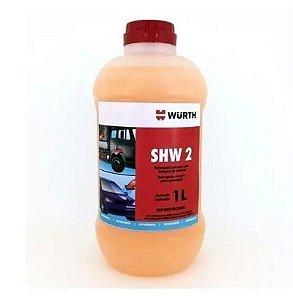 Shampoo Automotivo Com Cera  - Wurth 1 Litro