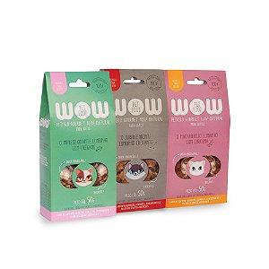 Kit de petiscos de lombinho para gatos