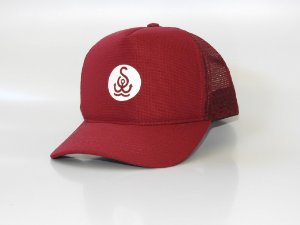 Boné Trucker - Bordo - logo Salt Water Brazil