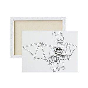 Tela para pintura infantil - Batman Lego