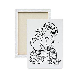Tela para pintura infantil - Coelho