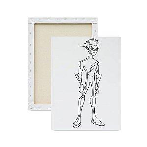Tela para pintura infantil - Flash Jovem