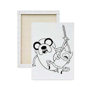 Tela Para Pintura Infantil - Hora da Aventura 3