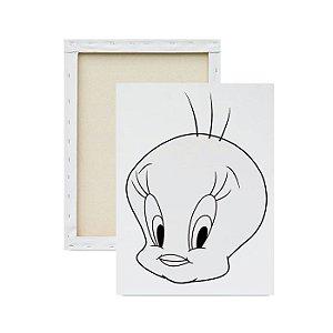 Tela Para Pintura Infantil - Piu-piu