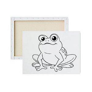 Tela Para Pintura Infantil - Sapo