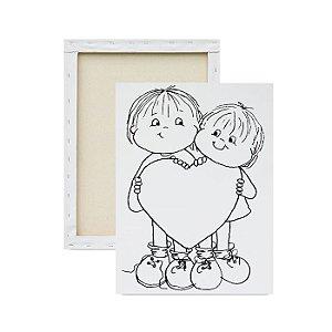 Tela Para Pintura Infantil - Tela Recado Crianças