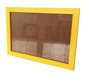 Porta Retrato de Parede Amarelo