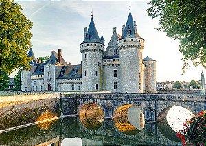 Painel de Festa em Tecido Sublimado 3d Castelo Francês