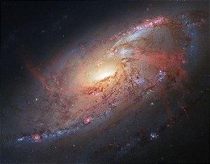 Painel de Festa em Tecido Sublimado 3d Galáxias