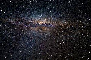 Painel de Festa em Tecido Sublimado 3d Galáxias Mod2