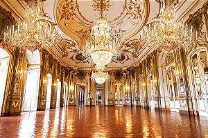 Painel de Festa em Tecido Sublimado 3d Hall do Palácio