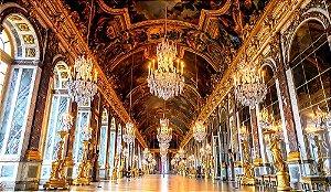 Painel de Festa em Tecido Sublimado 3d Palácio de Versailles