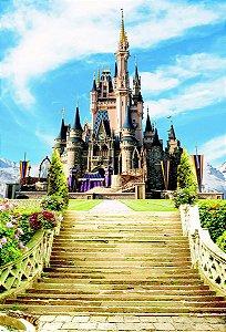 Fundo Fotográfico em Tecido Sublimado Castelo Realeza