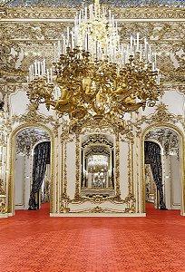 Fundo Fotográfico em Tecido Sublimado Hall do Palácio