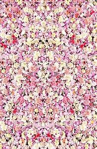 Fundo Fotográfico em Tecido Sublimado Cortina de Flores