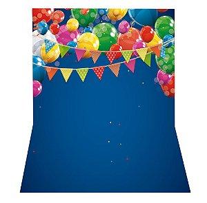 Fundo Fotográfico em Tecido Sublimado Balões Festa Junina