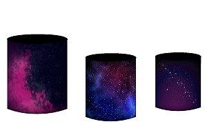 Kit Capas de Cilindro de festa em tecido sublimado Espaço