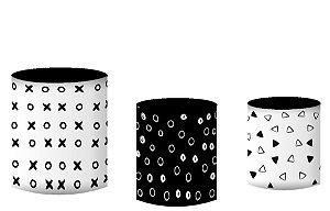 Kit Capas de Cilindro de festa em tecido sublimado Games