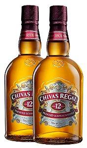 Combo 2 UND Chivas 12 Years - 750ML