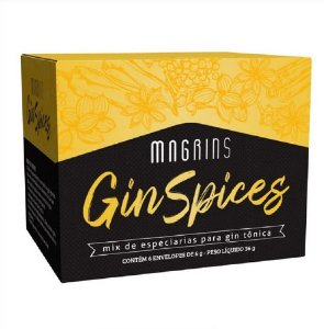 Kit de Especiarias Magrins Gin Spices - 6 Envelopes