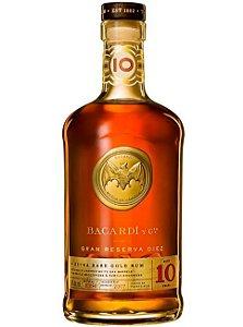 Rum Bacardi 10 anos Gran Reserva Diez - 750 ml