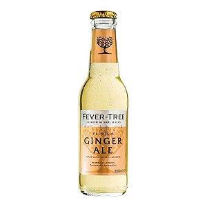 Água Tônica Fever Tree Ginger Ale 24und - 200 ml