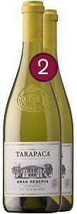 KIT 02 Tarapaca Gran Reserva Chardonnay 2015 750ml
