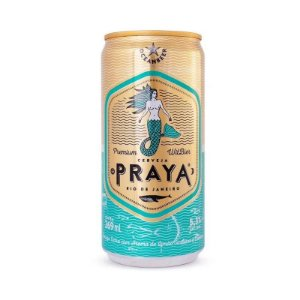 Cerveja Praya Lata 269ML - Pack 12UND