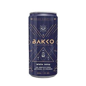 Coquetel de Gin Bakko White Julep 4und - 269ml
