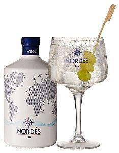 Gin Nordés + 1 Taça de Vidro - 700ml