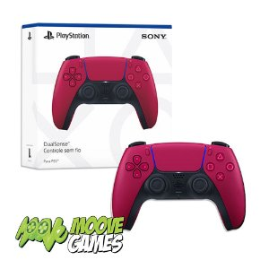 CONTROLE PS5 DUALSENSE COSMIC RED
