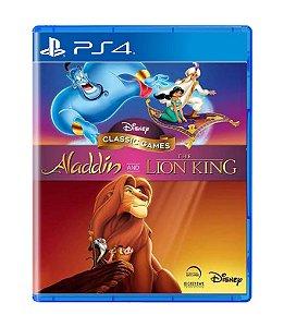 DISNEY CLASSICS: ALADDIN & THE LION KING - PS4