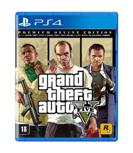 GTA V: PREMIUM EDITION - PS4