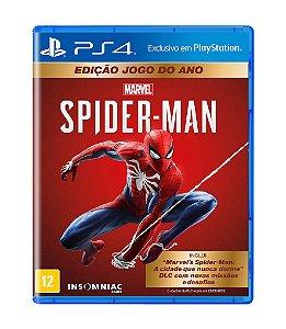 MARVEL® SPIDER-MAN EDIÇÃO JOGO DO ANO - PS4