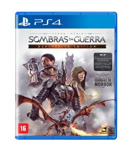 TERRA-MÉDIA: SOMBRAS DA GUERRA: DEFINITIVE EDITION - PS4