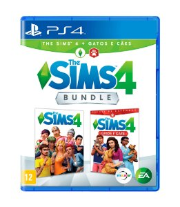 THE SIMS 4: CÃES E GATOS BUNDLE - PS4