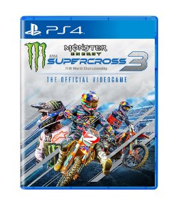 MONSTER ENERGY SUPERCROSS 3 - PS4