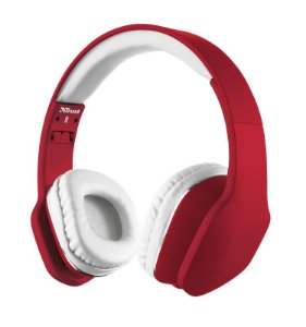 Headphone Mobi 40mm Stereo 2.0 com Microfone Incorporado - Vermelho - Trust