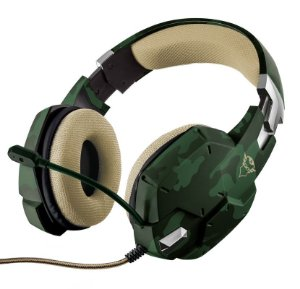 Headset Gamer PS4 / XBOX ONE / SWITCH / PC / LAPTOP GXT 322C Carus Jungle Camo - Trust