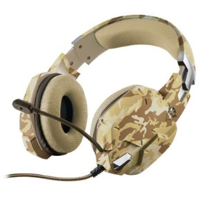 Headset Gamer PS4 / XBOX ONE / SWITCH / PC / LAPTOP GXT 322D Carus Desert Camo - Trust
