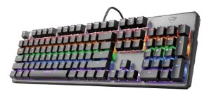 Teclado Gamer Mecânico Switches Red - GXT 865 Asta - Trust
