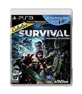 CABELA'S SURVIVAL: SHADOWS OF KATMAI - PS3