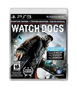 WATCH_DOGS: VIGILANTE EDITION - PS3