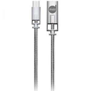 CABO MICRO USB 2.0 LIGA DE ZINCO - PROTEÇÃO EXTRA