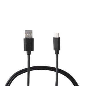 CABO USB TYPE-C PRETO - SUPER FLEXÍVEL