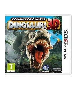 COMBAT OF GIANTS: DINOSAUR 3D - 3DS