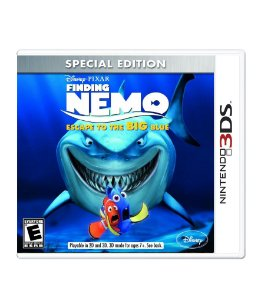FINDING NEMO: ESCAPE TO THE BIG BLUE - 3DS