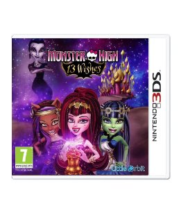 MONSTER HIGH 13 WISHES - 3DS