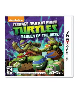 TEENAGE MUTANT NINJA TURTLES: DANGER OF THE OOZE - 3DS